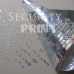 Holographic Self-Adhesive Hologram Security Sticker Tape 50mm Wide Silver HT50-1VSHolographic Tape